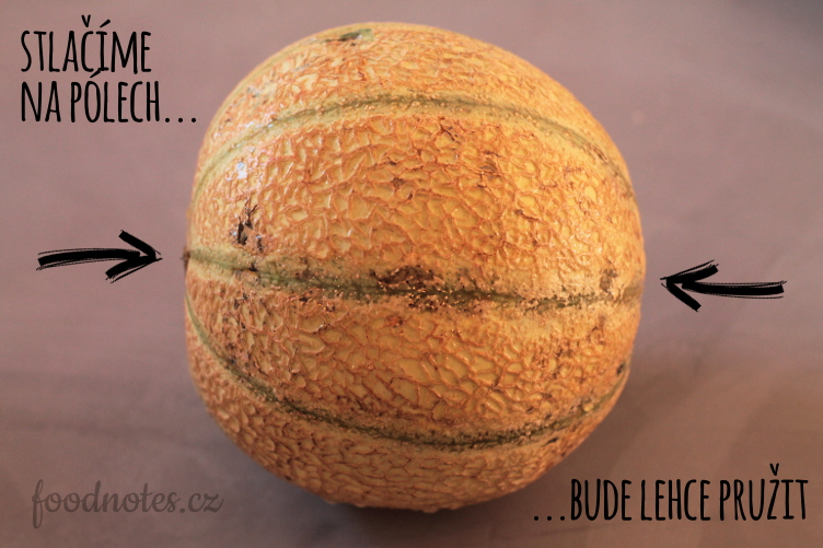Jak poznat zralý cukrový meloun