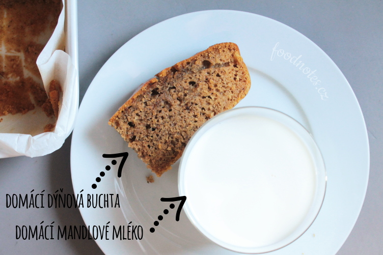 Recept na domácí mandlové mléko