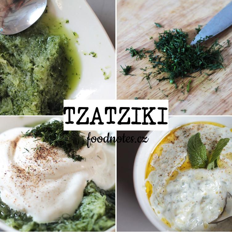 Recept na přípravu řecké omáčky tzatziki