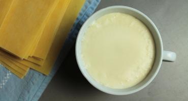 Salsa bešamel, jednoduchý recept