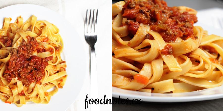 Jednoduchý recept na boloňské ragú