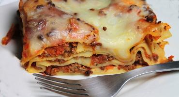 Domácí lasagne s ragú