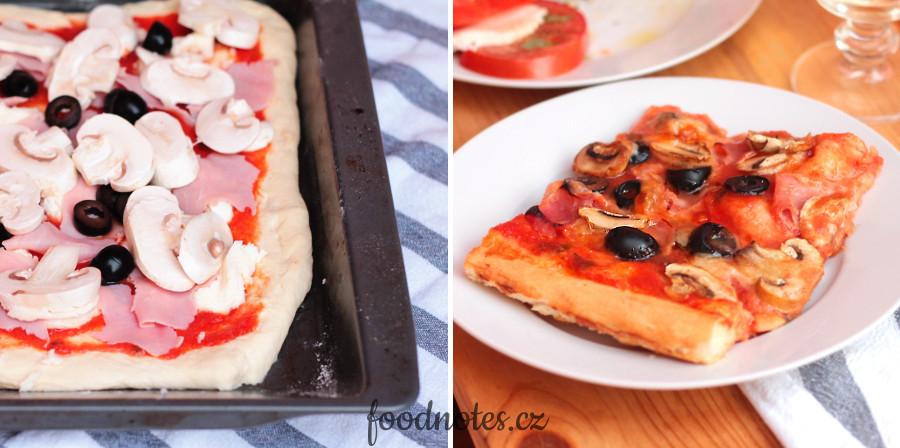 Jednoduchý recept na domácí pizzu