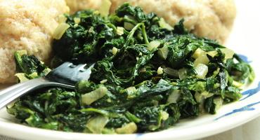 Jednoduchý recept na špenát (jako příloha)