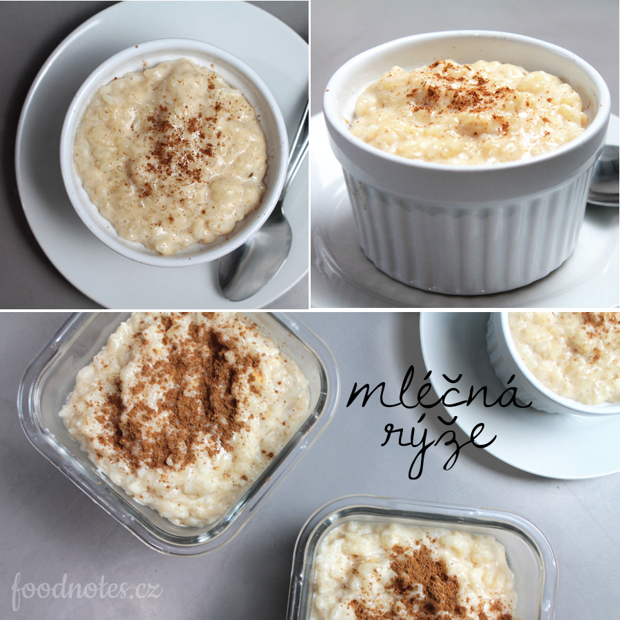 Jednoduchý recept na domácí mléčnou rýži
