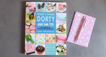 Recenze knihy Pečeme a zdobíme dorty - jak na to