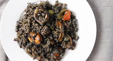 Arroz negro, španělská černá rýže