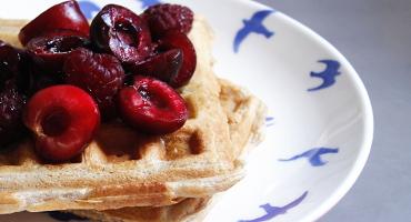 Domácí vafle - jednoduchý recept s práškem do pečiva