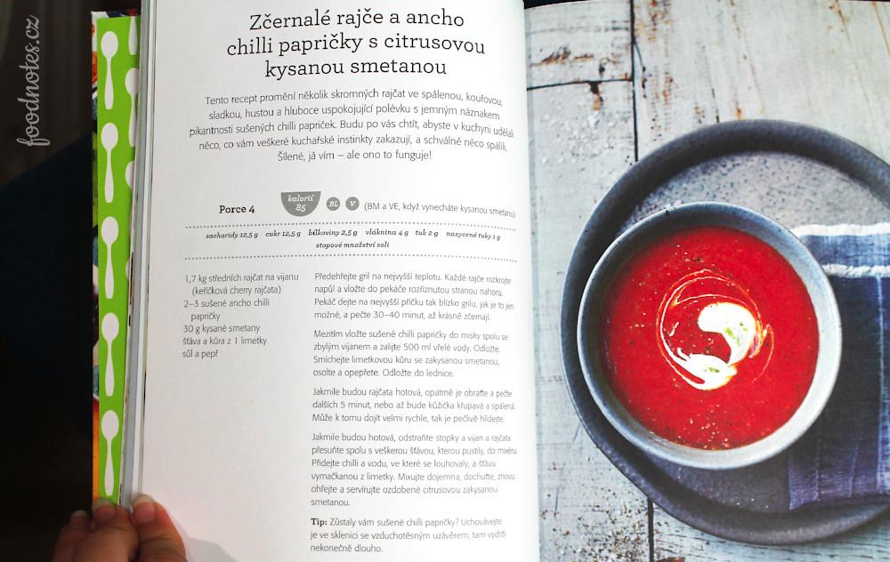 Recept na polévku z pečených rajčat