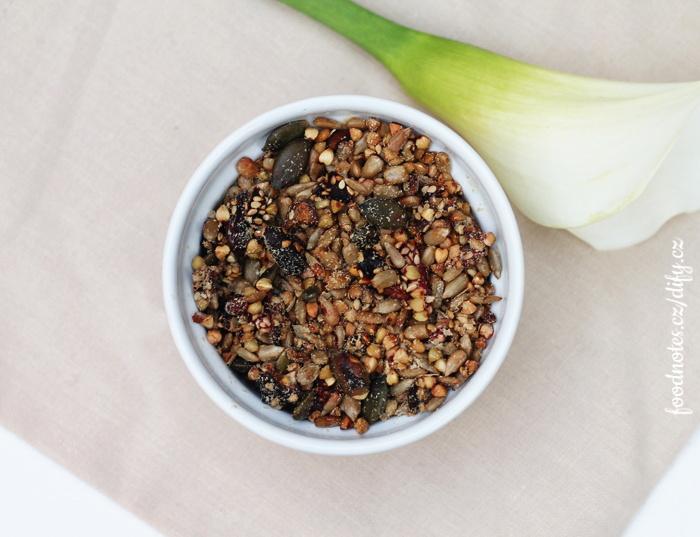 Recept na neobilnou granolu s goji