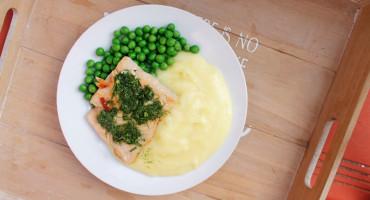 Recept na jednoduché koprové máslo, nejen k rybě