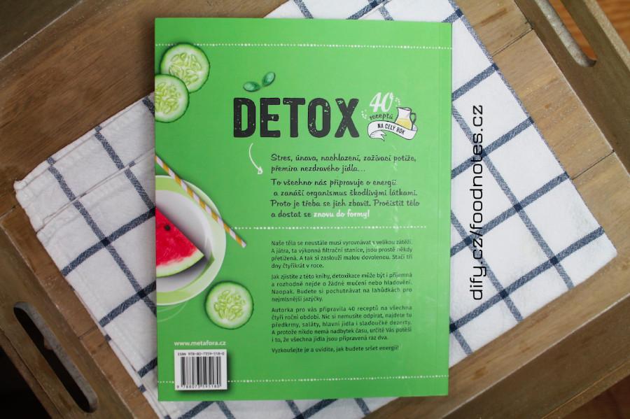 Kniha detof od Lucie Reynier - detox plán a recepty na celý rok