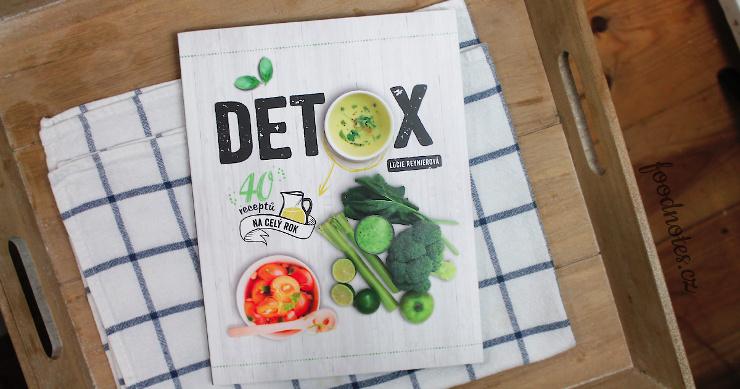 Kniha detox od Lucie Reynier - detox plán a recepty na celý rok
