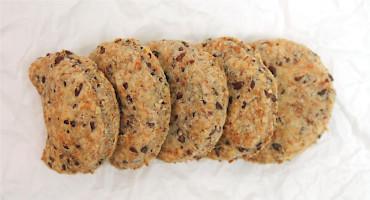 Jednoduchý recept na domácí lněné sušenky