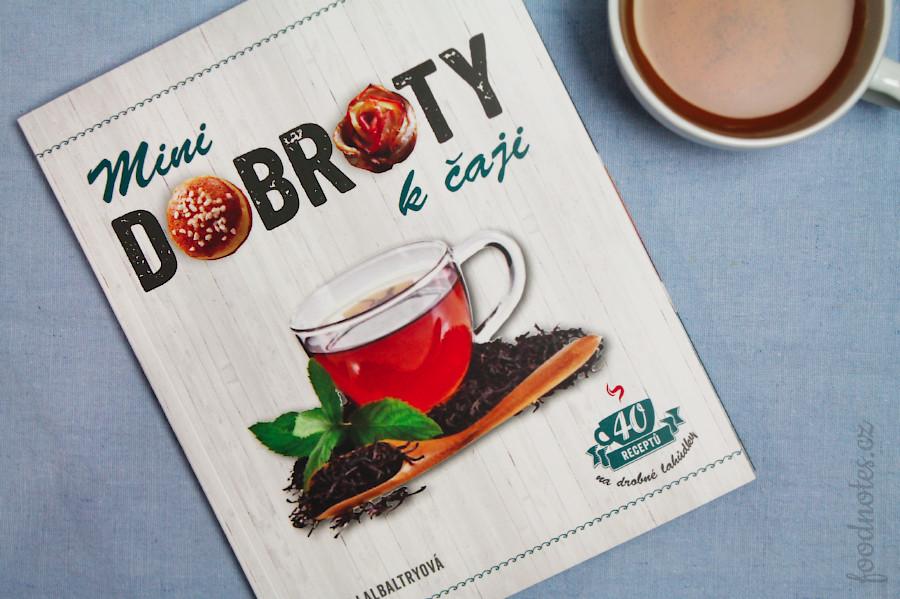 Recenze kuchařky Mini dobroty k čaji - Juliette Lalbaltry od Metafory