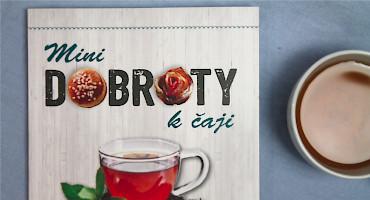 Mini dobroty k čaji, Juliette Lalbaltry - kuchařka plná sladkých hříšků