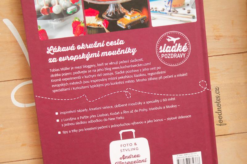 Recenze kuchařky Bake & The City od Tobiase Müllera