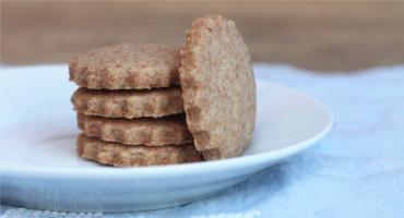 Recept na jednoduché sušenky ze špaldové mouky a másla