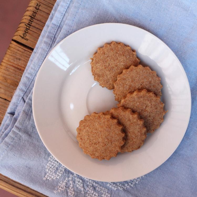 Špaldové sušenky - jednoduchý recept