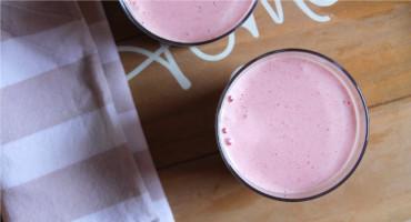 Recept na jednoduchý shake s rostlinným mlékem