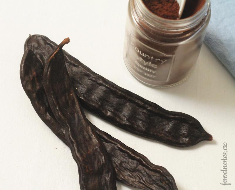 Lusky, ze kterých se připravuje karobový prášek