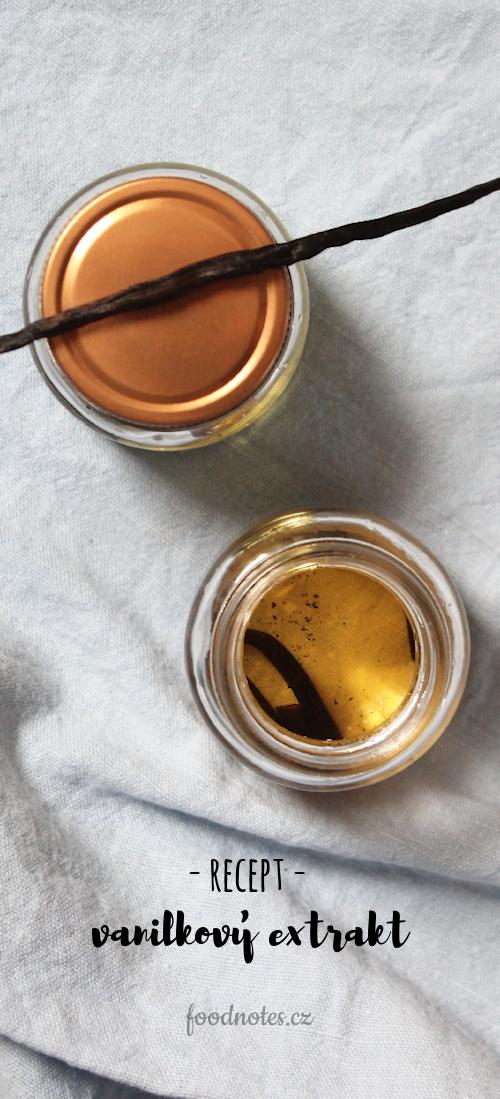 Recept na výrobu přírodního domácho extraktu z vanilky