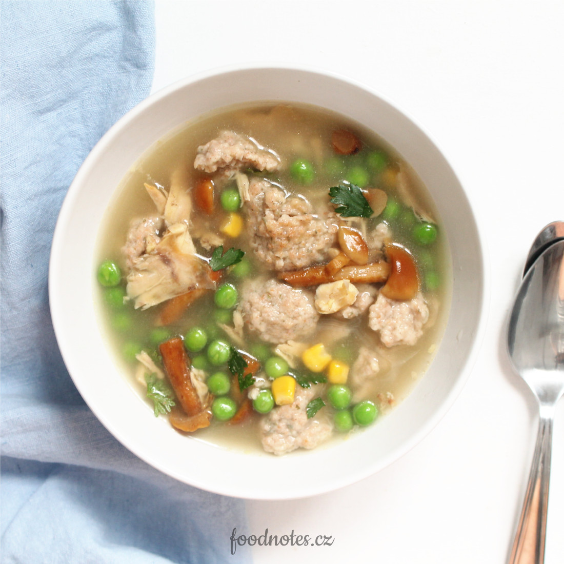 Recept na jednoduché nočky do polévky