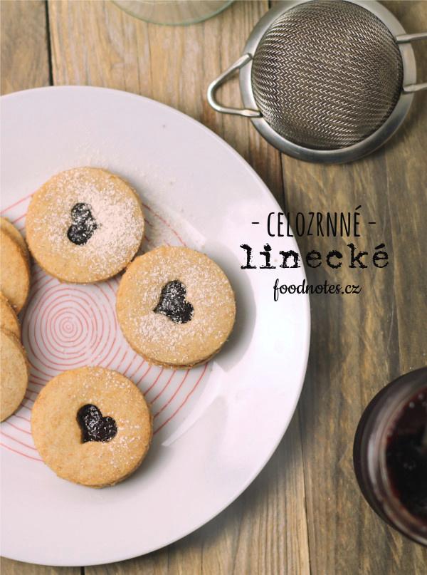 Recept na jednoduché linecké cukroví ze špaldové mouky s třtinovým cukrem