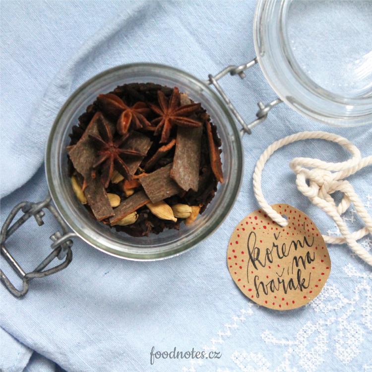 Recept na směs koření na svařák nebo do horkého džusu (skvělý i jako jedlý dárek)