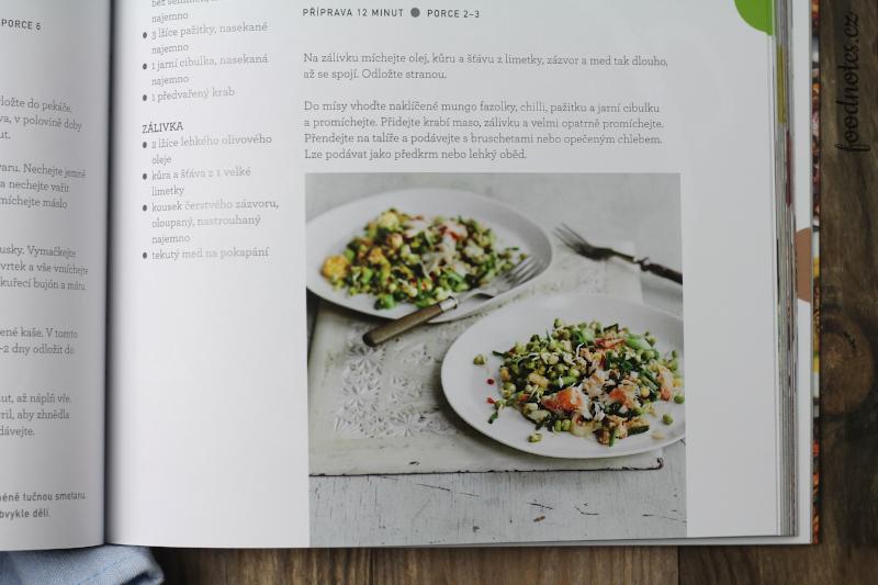 Kuchařka Luštěniny od Georginy Fuggle