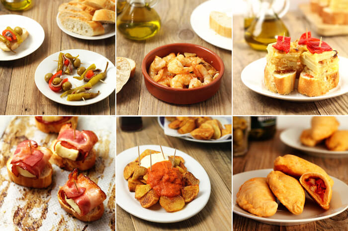 Recepty na pravé španělské tapas