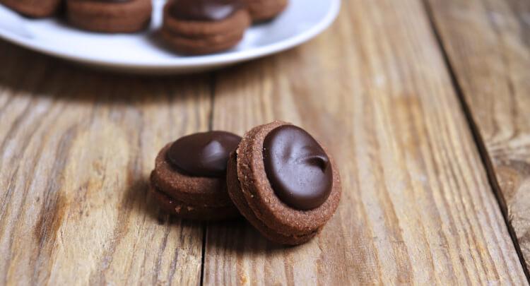 Čokoládové dortíčky s pomerančovou čokoládou